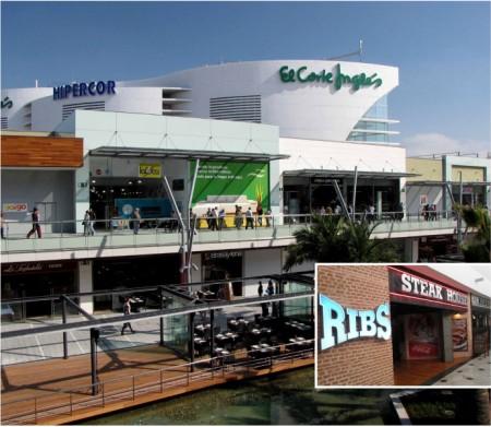 R tulos mace instala los r tulos de hipercor y de el corte ingl s en el centro comercial puerto - Centro comercial puerto venecia zaragoza ...